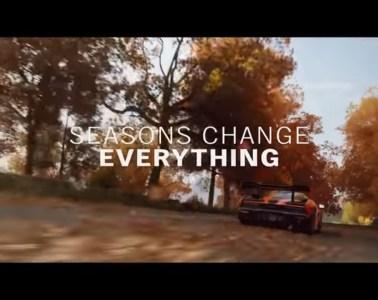 Forza Horizon 4 Autumn gameplay