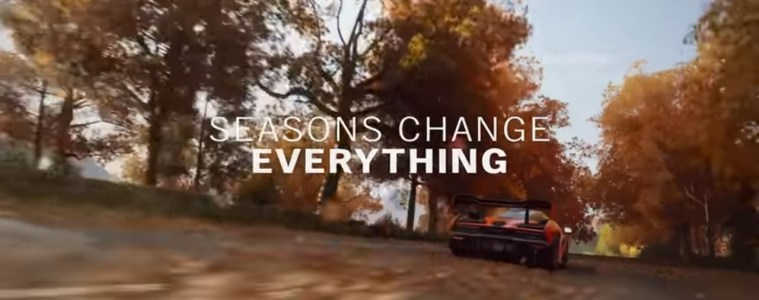 Forza Horizon 4 Autumn gameplay