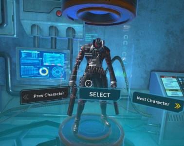 Gungrave VR character