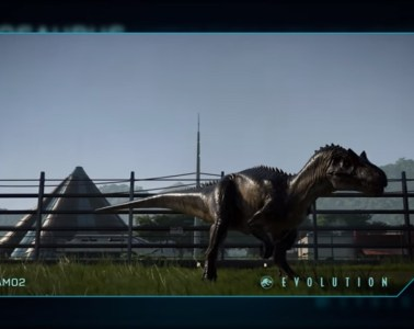 Jurassic World Evolution Allosaurus