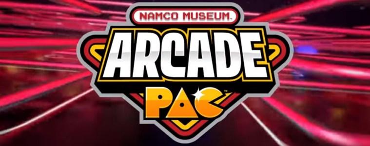 Namco Museum Arcade Pac title