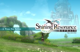 Shining Resonance Refrain title
