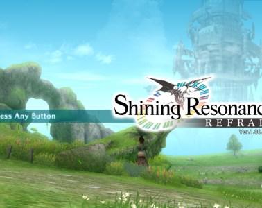 Shining Resonance Refrain title