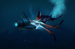 Subnautica monsters in the deep