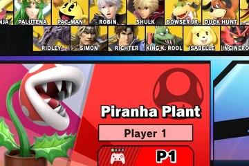 Super Smash Bros Ultimate Piranha Plant