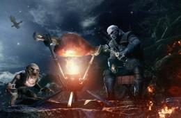 Monster Hunter: World The Witcher 3 Geralt