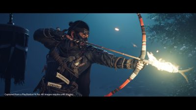 Ghost of Tsushima Protagonist Jin Uses Two Bows as Samurai and Ghost