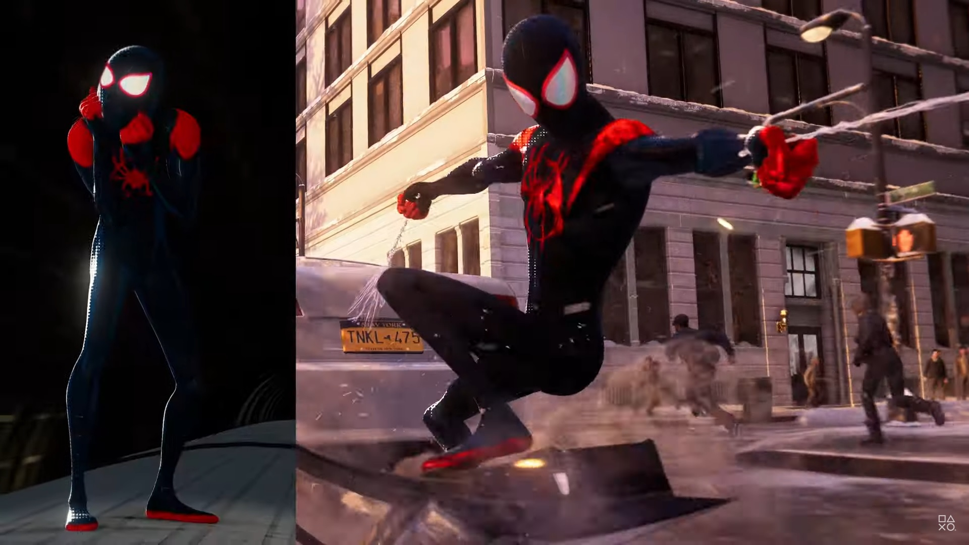 'Spider-Man: Miles Morales' new suit moves like 'Into the Spider-Verse'