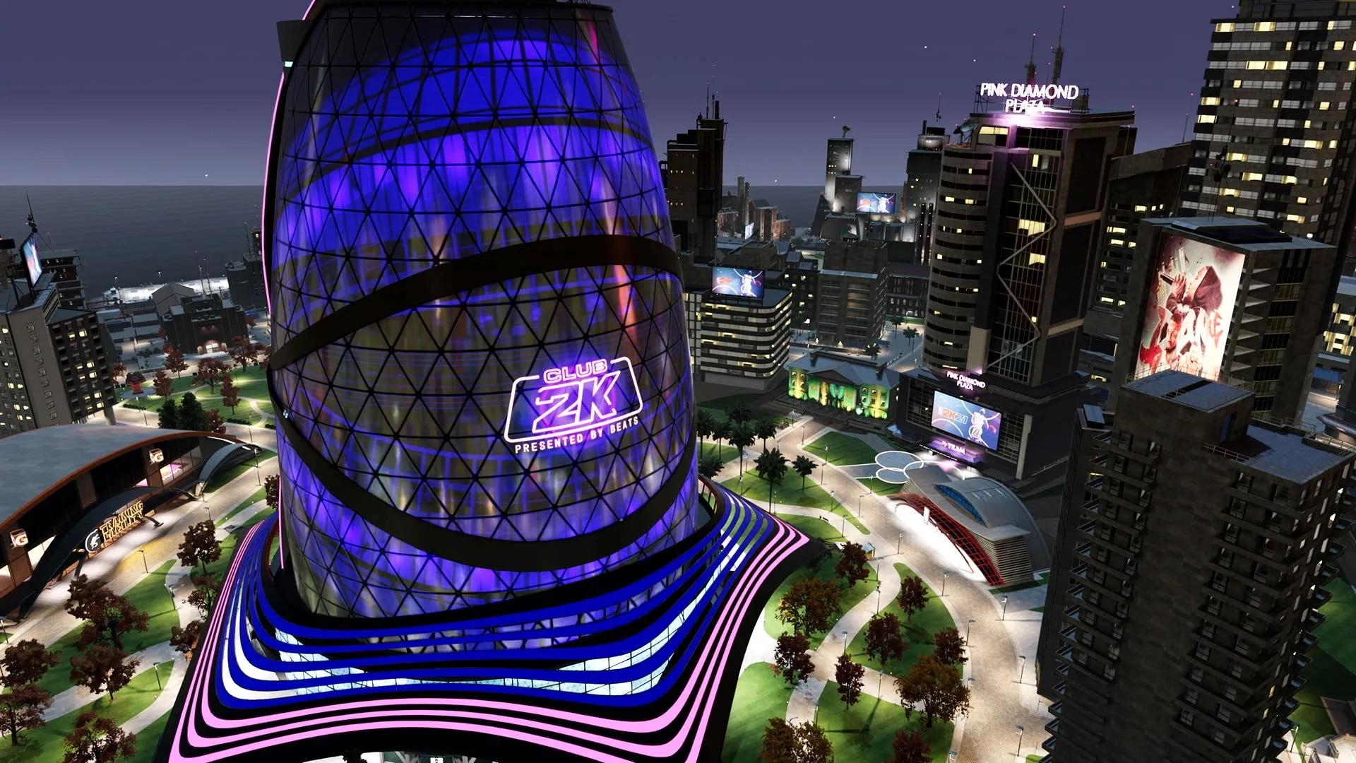 National Basketball Association 2K21 Neighborhood mode is transformed into a city for next-gen