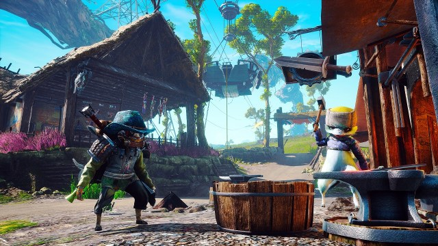 Biomutant Gameplay Footage on PS5 and Xbox Series X Revealed   Sirus Gaming
