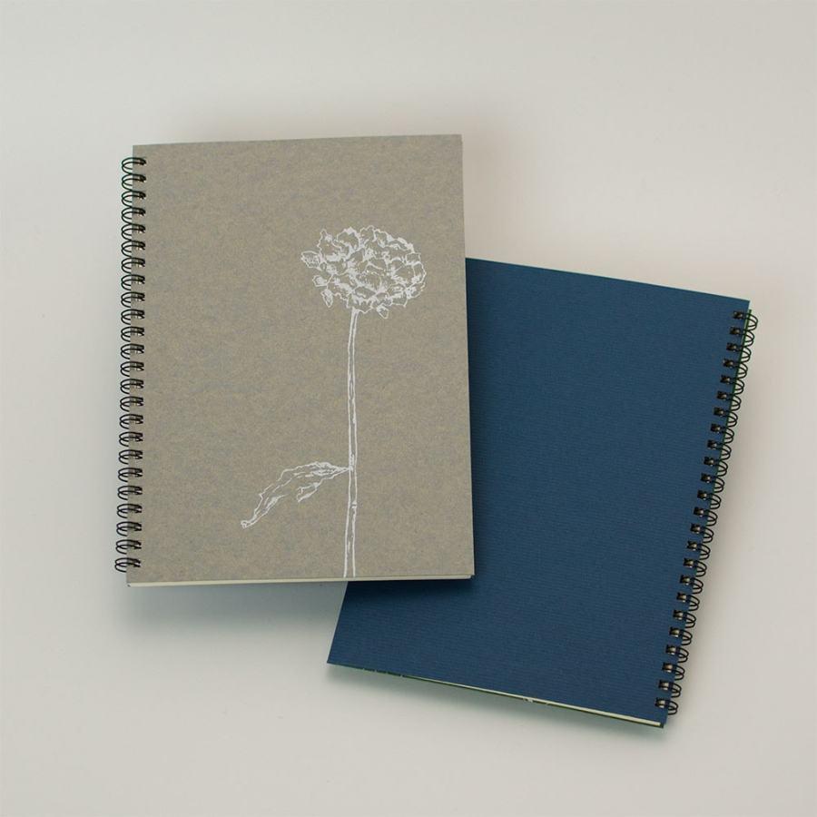 「dryflower」背表紙「濃青」