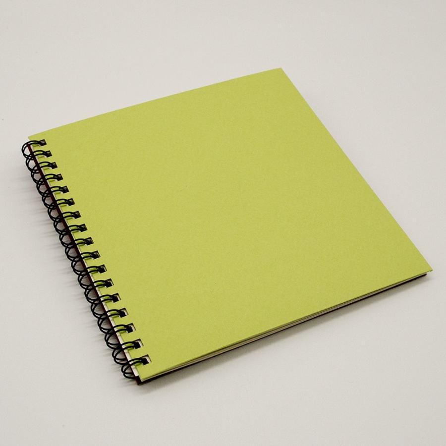 スクエアノート<br>SQUARE free note 黄緑色