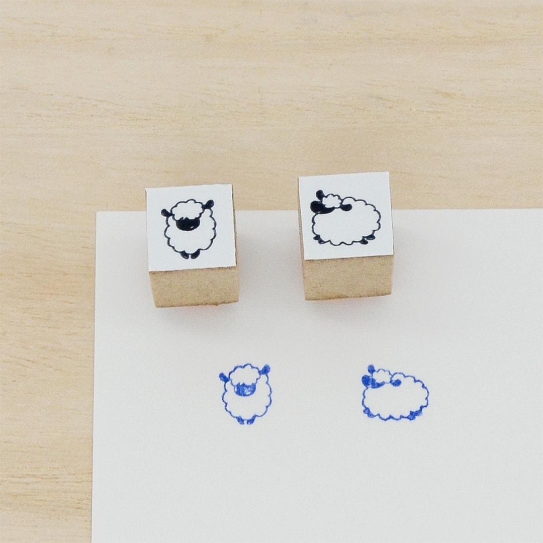 スタンプ<br>動物 ひつじイメージ4