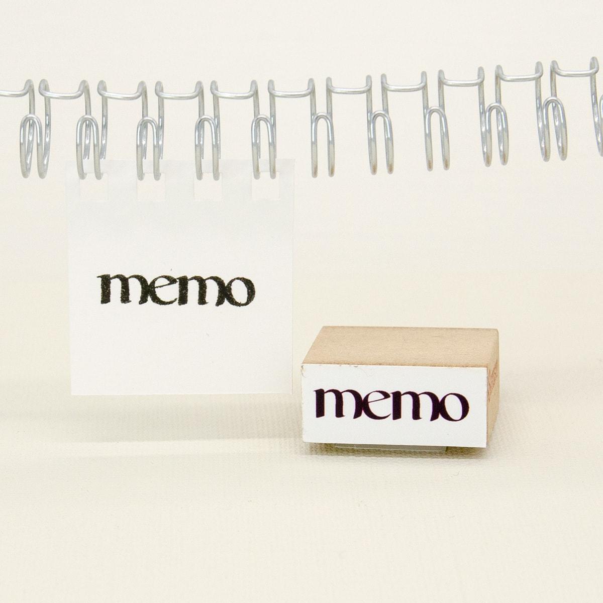 スタンプ<br>memo(メモ)イメージ2