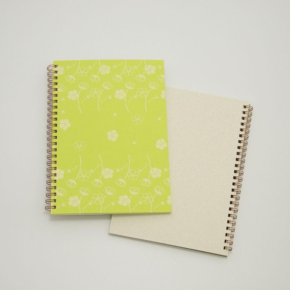 コットン×黄緑色イメージ3