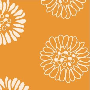 「デイジー×橙色」を選ぶ