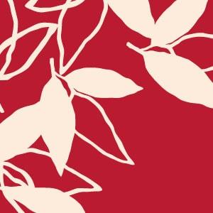 「葉模様×赤色」を選ぶ