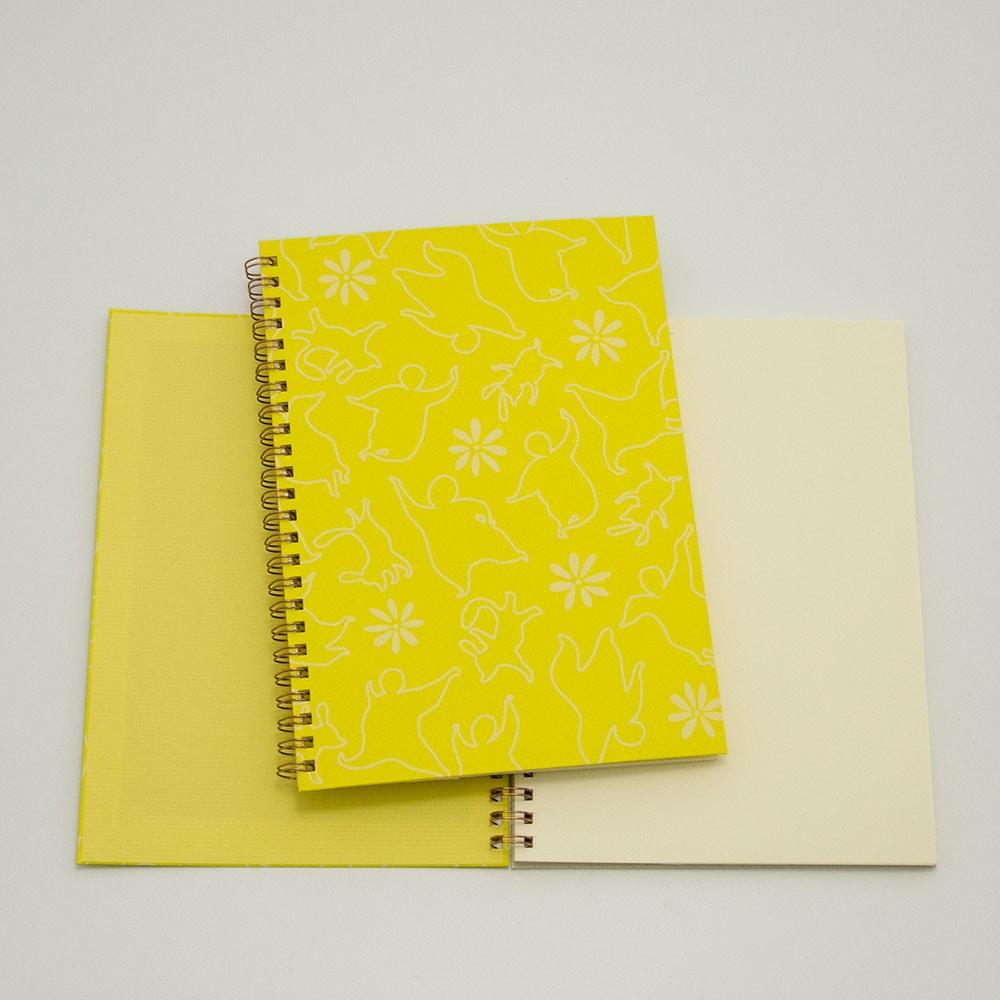 おどる×黄色イメージ2