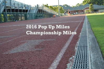 2016 Pop Up Miles - Championship Miles