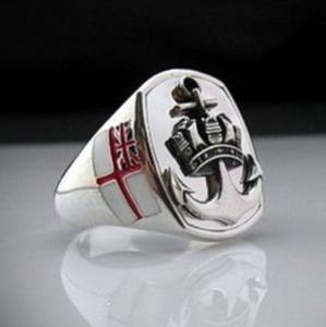 Royal Navy Bespoke Sterling Silver Ring