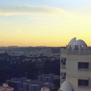 Bangalore sunset
