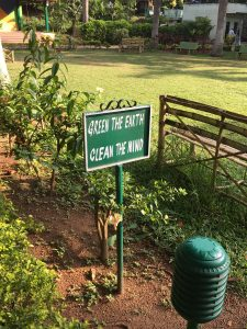 A sign I found in a park in Sadashiv Nagar