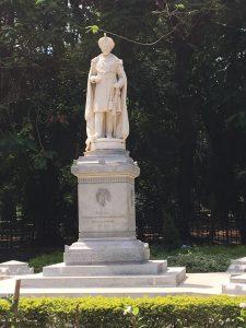 """His Highness Sri Chamarajendra Wadiyar Bahadur G.C.S.I Maharaja of Mysore 1881-1894"" - The sign"