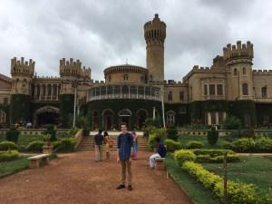 Me at Bangalore Palace,