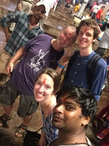 After the evening Ganga Aarti Ritual at Dashashwamedh Ghat