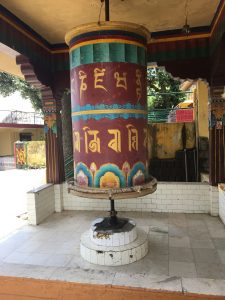 A very large prayer wheel