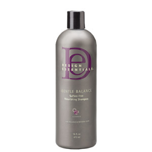 design essentials gentle balance nourishing shampoo 16oz hair care products and hair supplies