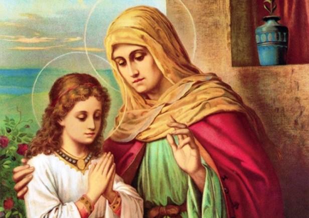 Sveti Joakim i sveta Ana - roditelji Blažene Djevice Marije ...