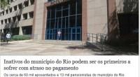 LEIA A MATÉRIA! https://extra.globo.com/emprego/servidor-publico/inativos-do-municipio-do-rio-podem-ser-os-primeiros-sofrer-com-atraso-no-pagamento-21255448.html Frederico Sanches aponta a pífia gestão de Crivella. SISEP trabalha com sugestões para reduzir a dívida. A Prefeitura é a maior devedora do PREVI RIO. Crivella, […]