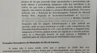 Prezados Vereadores, servidores e população segue Carta Aberta para análise. Tema: Reforma da Previdência Municipal. Devido a celeridade que ocorreu a tramitação e o anúncio pela mídia em 03/03/18 encaminhamos […]
