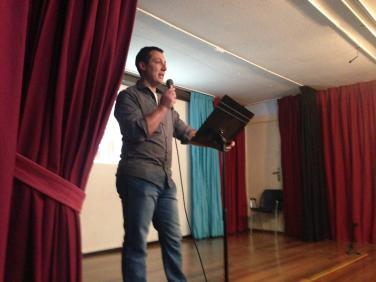 Albert nos introdujo en las líneas a seguir para tener una juventud integrada y capaz en Laredo