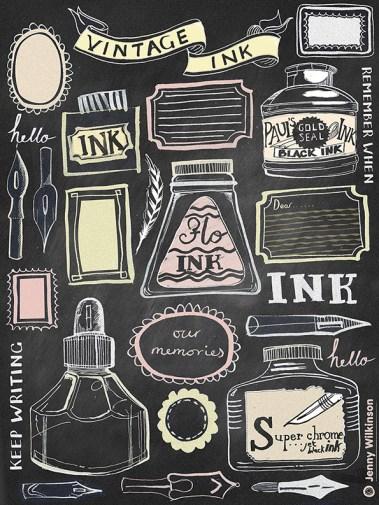 I for Ink