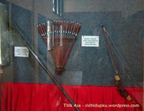 Senjata tradisional yang digunakan pejuang.