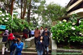 Memasuki area Telaga Warna.