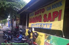 Warung Soto Lamongan Cak Sodik.