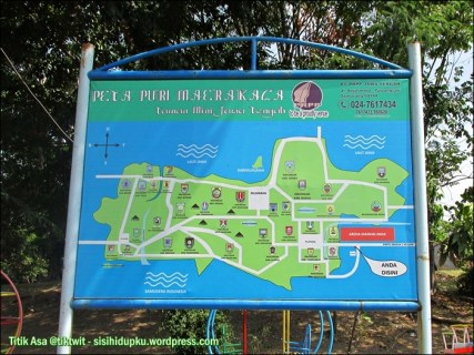 Peta Puri Maerakaca.