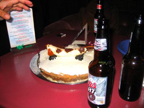 Andrea's Weiner Dog Cake