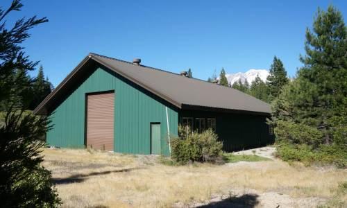 Mount Shasta Land | Barn | Big Sky Road Acreage