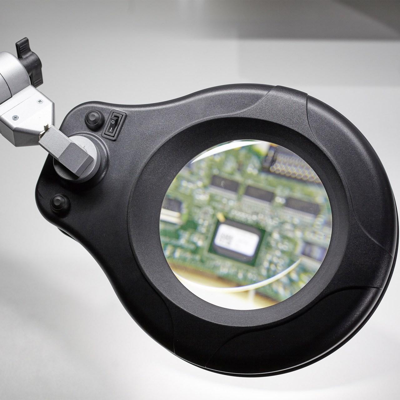 LED-Lupenleuchte SIS-Licht RLL MASTER mit Platine