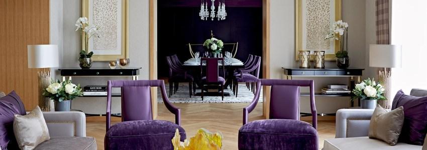 Decora con violeta, el color de la temporada