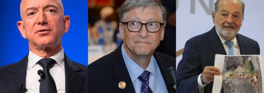 Así invierten los empresarios más ricos del mundo