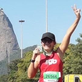 Nira Guzzo e a Meia Maratona do Rio: não é só corrida