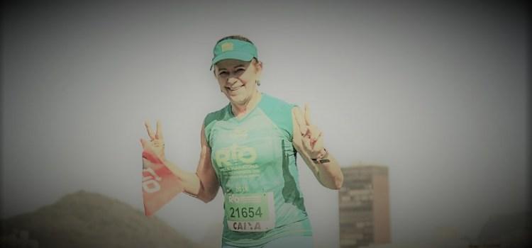 'Enquanto isso eu sigo correndo, atraindo felicidade e dando sentido à minha vida'
