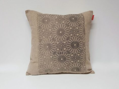 Housse Coussin Sérigraphie Broderie n°6