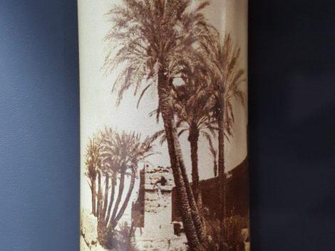 Applique palmier Sépia