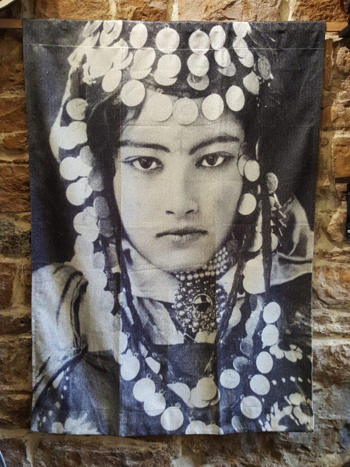 Tentures Murales Nejma Sepia
